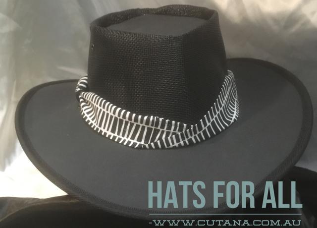 BREEZEWAY Sport HAT by Cutana Australian Made LEATHER